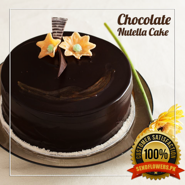 Chocolate Nutella Cake - Online Cakes Delivery - Sendflowers.pk