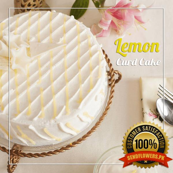 Lemon Cake - Online Cakes Delivery - Sendflowers.pk