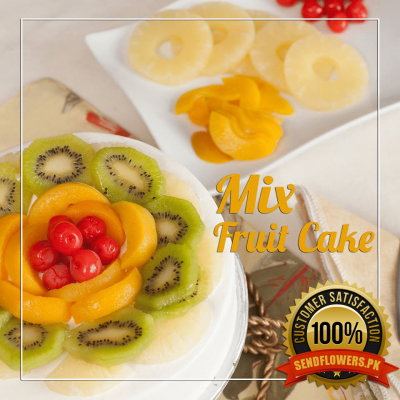 Mix Fruit Cake - Online Cakes Delivery - Sendflowers.pk