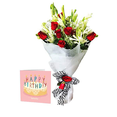 Happy Birthday Flowers - SendFlowers.pk