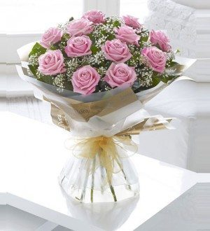 WOW Pink Roses - Online Flowers delivery