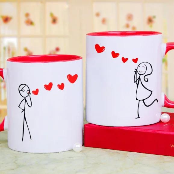 Beauty-Beast Mug - Send Valentine's Mugs Lahore