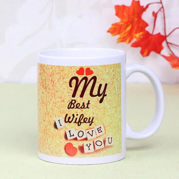 Best Wife Coffee Mug - Send Anniversay Mugs Lahore