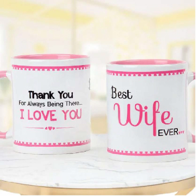 Best Wife Mug - SendFlowers.pk