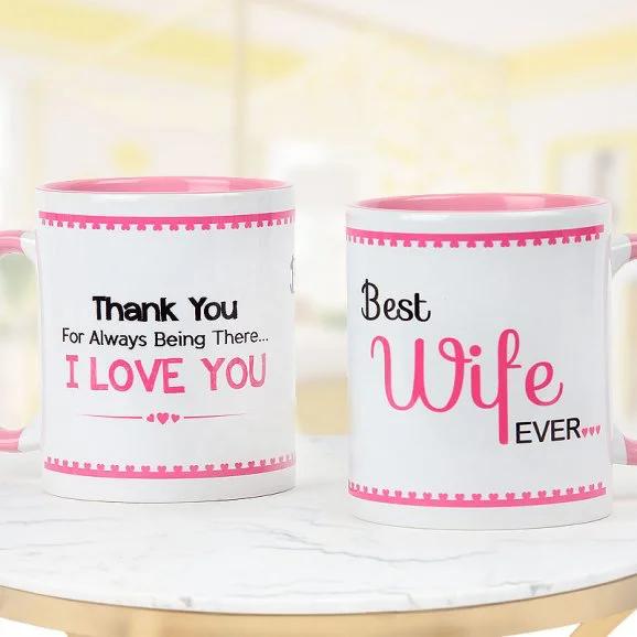 Best Wife Mug - Send Anniversay Mugs Lahore