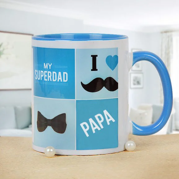 For Dear Father - Send Printed Mug For Father's Day