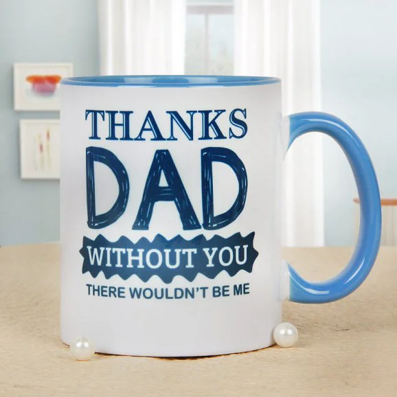 I'm Thankful Mug - Send Printed Mug For Father's Day