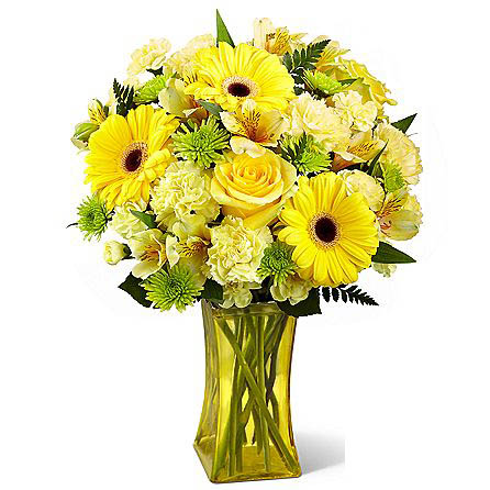 Lemon Groove Bouquet SendFlowers To Pakistan