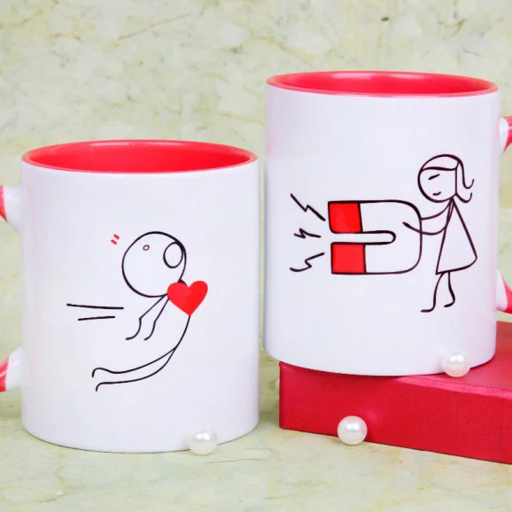 Love Attraction Mug - Send Valentine's Mugs Lahore