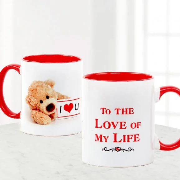 Love Teddy Mug - Love Teddy Mug | Send Valentine's Day Mugs in Lahore