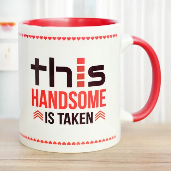 Man Of Your Dreams - Send Anniversay Mugs Lahore