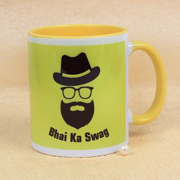 Mera Swagger Bro - Send Printed Mugs to Lahore