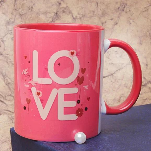 Mine And Yours Mug - Send Valentine's Mugs Lahore