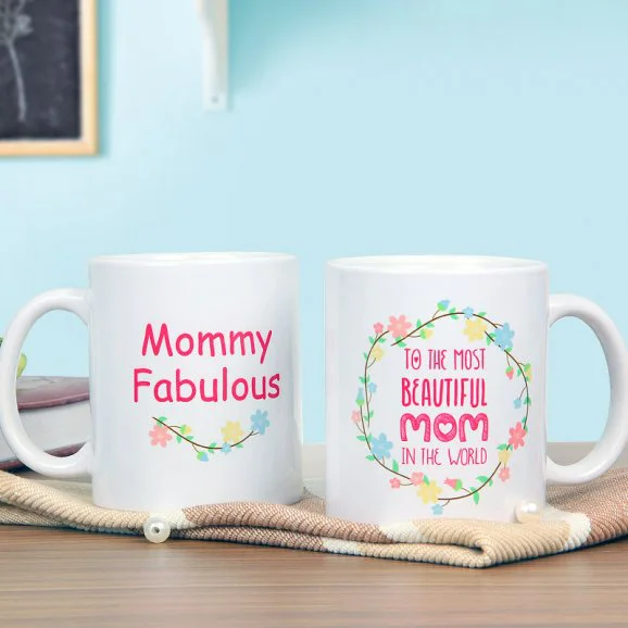 Mommy Fabulous - Send Valentine's Mugs Lahore