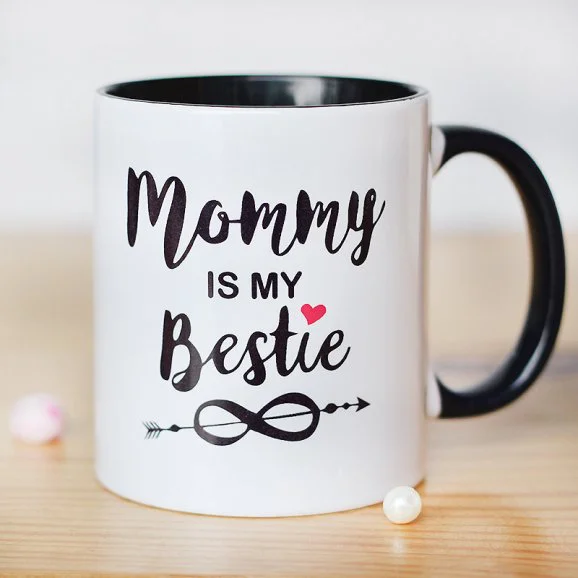 Mommy's My Bestie - Send Printed Mothers day Mugs