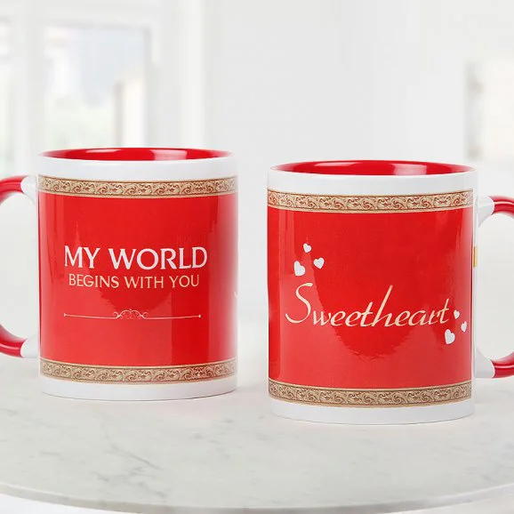 My Sweetheart Mug - Send Anniversay Mugs Lahore