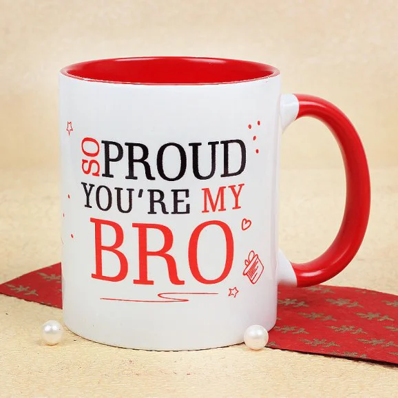 Proud Bro Mug - Online Customize Mugs delivery