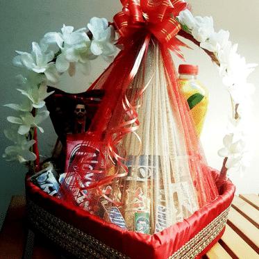 Lovely Choco Heart Basket - SendFlowers To Pakistan