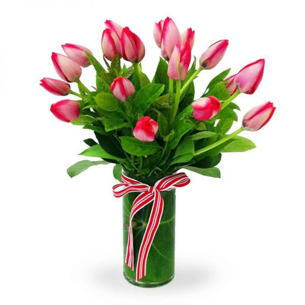 Sweetheart Tulip Bouquet SendFlowers To Pakistan