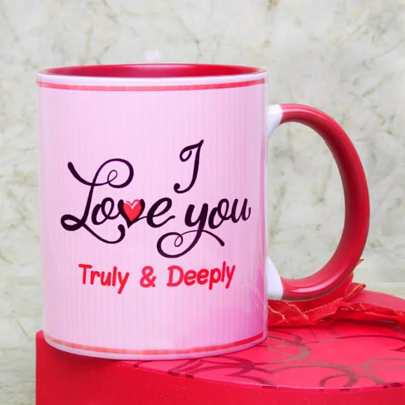 Truly Deeply Madly - Send Valentine's Mugs Lahore