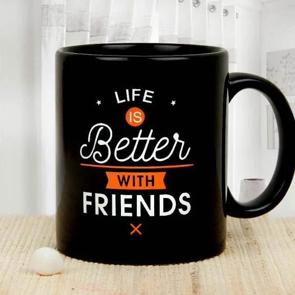 Vow Of Friendship Mug - printed mugs gift delivery