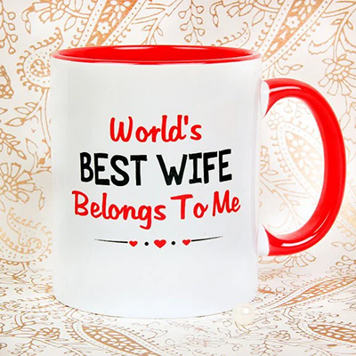 World Best Wife - SendFlowers.pk