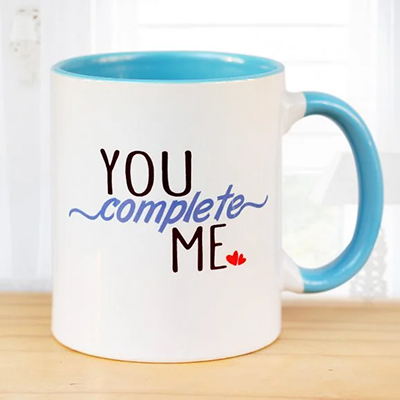 You Complete Me Mug - SendFlowers.pk