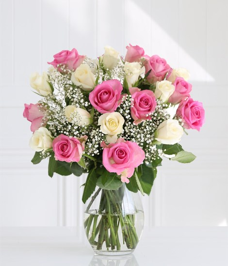 Pastel Roses Love SendFlowers To Pakistan
