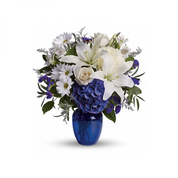 CLEAR BLUE SKIES BOUQUET SendFlowers to Pakistan