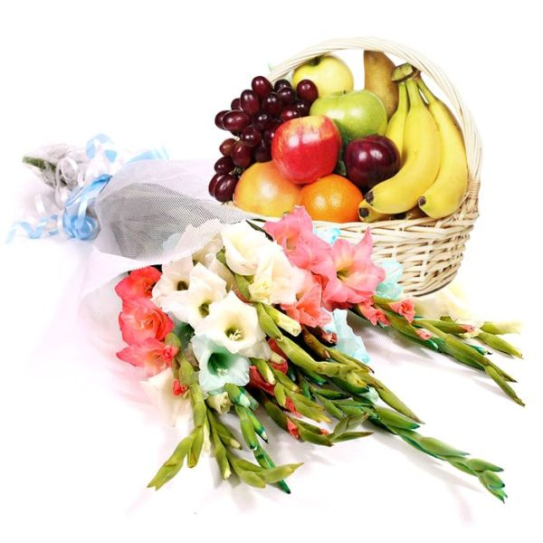 Fresh & Healthy Delight Basket - Send Fruit in Lahore