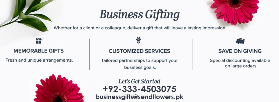 corporate gifting-partnership - Sendflowers.pk