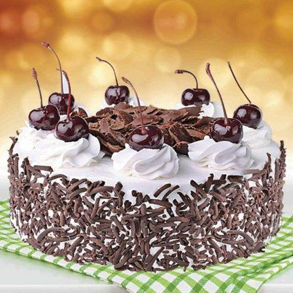 2 Pounds Black Forest Cake - sendflowers.pk