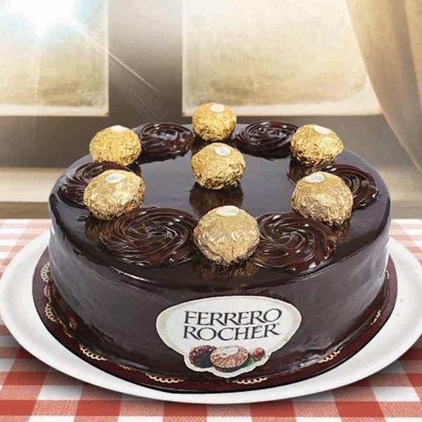 2 Pounds Rocher Cake - SendFlowers.pk
