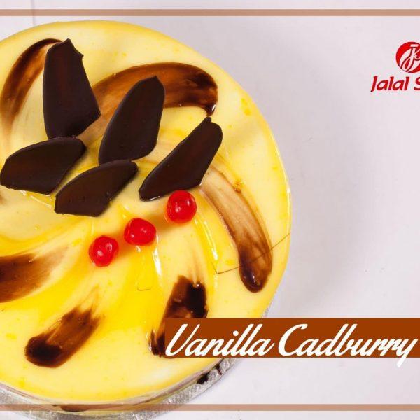 CADBURY VANILLA PREMIUM CAKE - Jalal Sons cake delivery Lahore