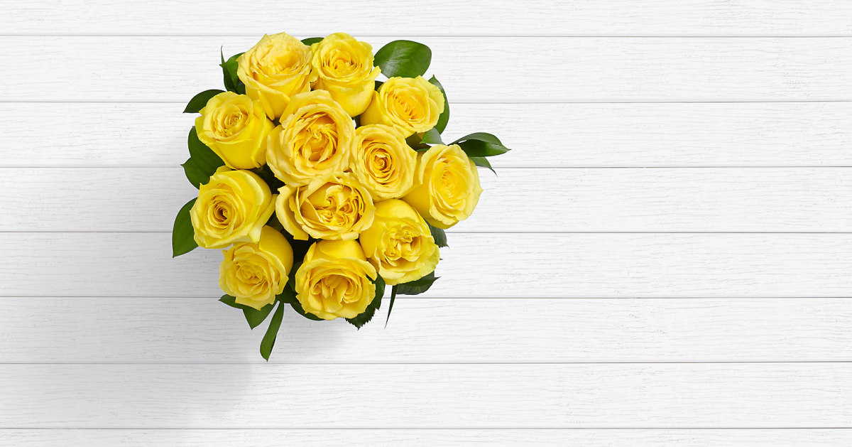 Long Stem Yellow Roses 1 - Send onilne flowers to Lahore