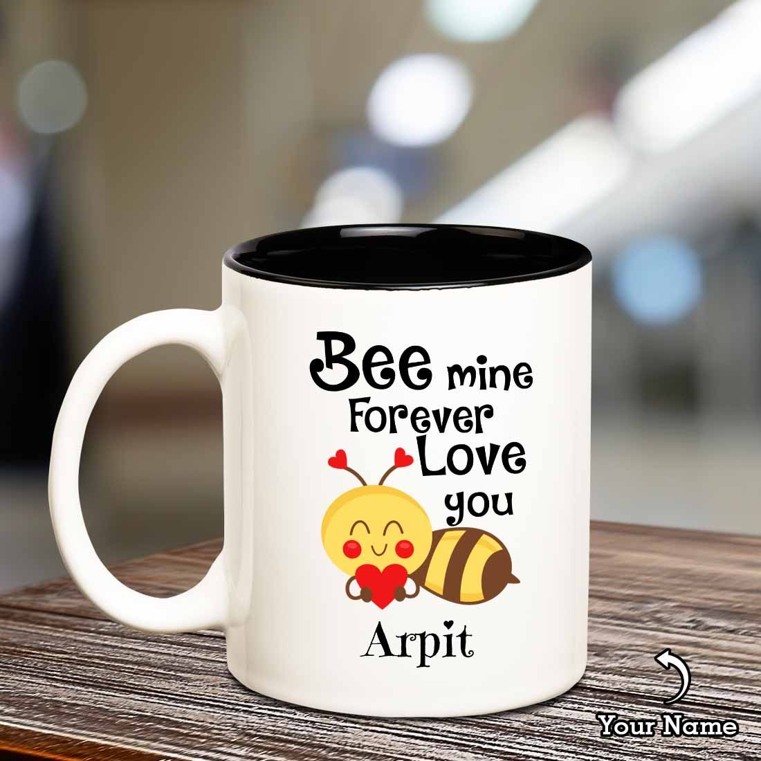 Be Mine Mug with Name - SendFlowers.pk