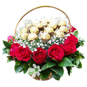 Delicious Choco Gift Basket - SendFlowers.PK