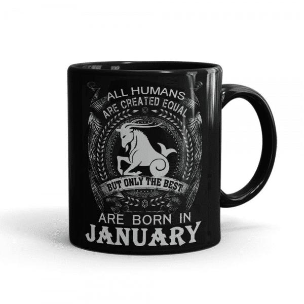 Best Born In January Mug Black - SendFlowers.pk