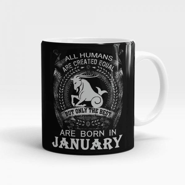 Best Born In January Mug White - SendFlowers.pk