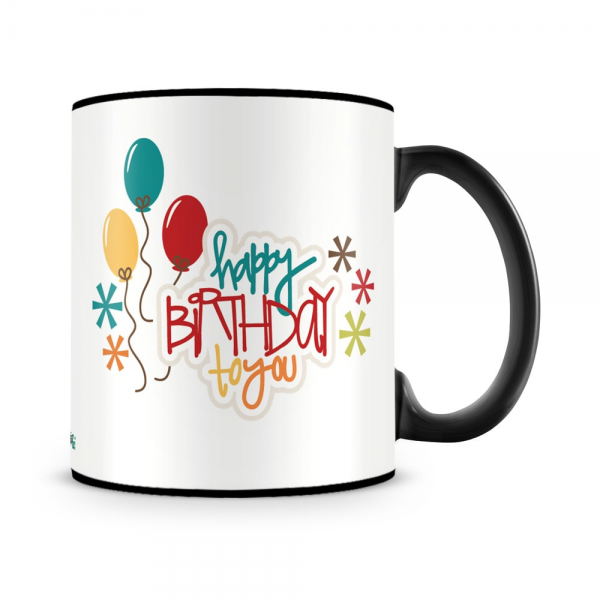 Birthday To You Mug Black - SendFlowers.pk