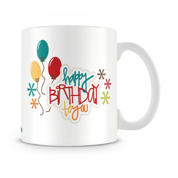 Birthday To You Mug White - SendFlowers.pk