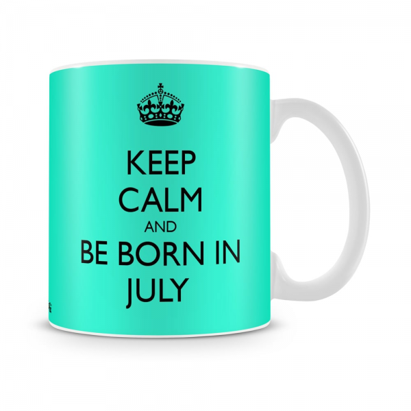 BorBorn In July Mug White - SendFlowers.pkn In July Mug White - SendFlowers.pk