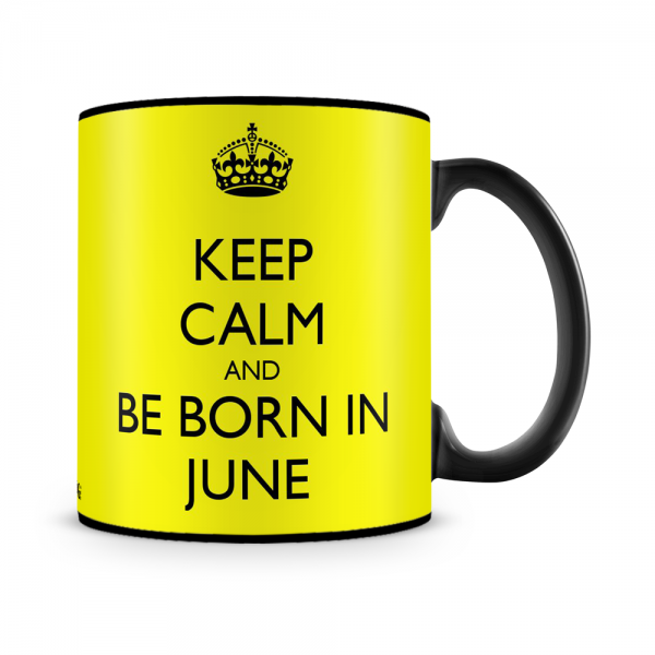 Born In June Mug Black - SendFlowers.pk