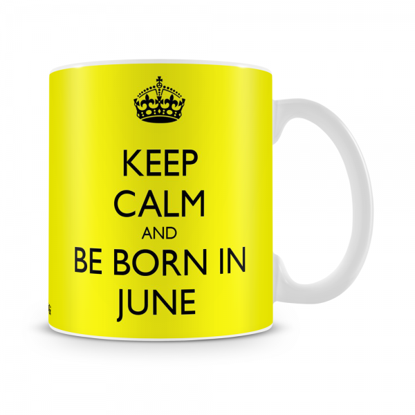 Born In June Mug White - SendFlowers.pk