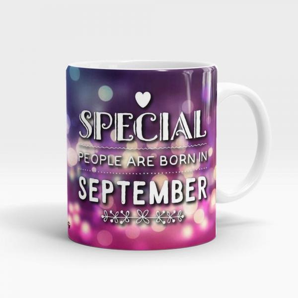 Born In September Mug White - SendFlowers.pk