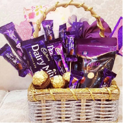 Dairy Milk Passion Basket - SendFlowers.pk