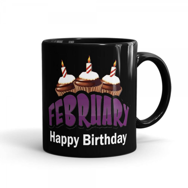 """This February Happy Birthday Mug Contains:One printed ceramic mug Size: Height 4"""" & Width 3"""" (350ml)Mug color may vary as per availabilitySame day delivery of mug is not availableOrder must be placed before 24 hoursThis Mug gift delivery is available only for LahorePrinting color & design may vary a little bit.Magic Mug Color is Only BlackThe date of delivery is an estimate as the product is dispatched using the services of our courier partners, Thus, there's a possibility that your gift may be delivered a day prior or a day after the chosen date of delivery.Mug delivery is available in Lahore only by SendFlowers.pk.If specific color mug not available, we'll add alternate as per our substitution policy*"""