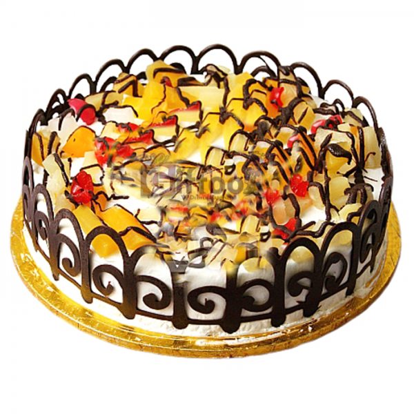 Fruit Cocktail Cake 2LBS - SendFlowers.pk