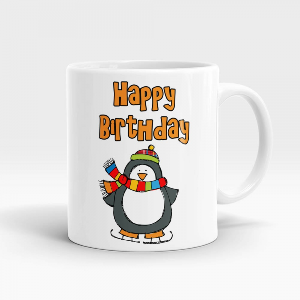 Happy Birthday Winters Mug White - SendFlowers.pk