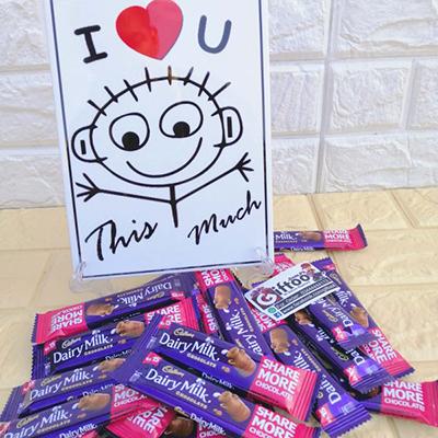 Dairy Love Chocolates - SendFlowers.pk